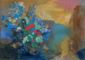 Odilon Redon, Ophelia among the Flowers, The National Gallery, London