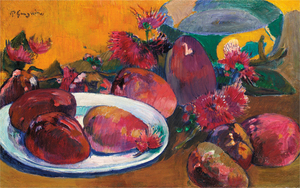 Paul Gauguin - NATURE MORTE AUX MANGOS