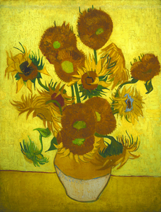 Vincent van Gogh - Still Life - Vase with Fourteen Sunflowers, 1889-7