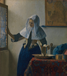 Johannes Vermeer - Young Woman with a Water Pitcher(45.7 x 40.6 cm)