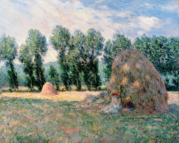 Claude Monet - Haystacks