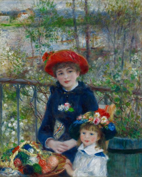 Pierre-Auguste Renoir - Two Sisters(On the Terrace)